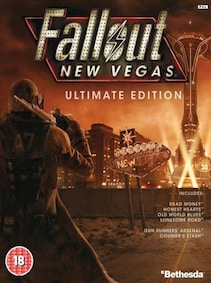 Fallout: New Vegas Ultimate Edition Steam Key EASTERN EUROPE