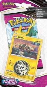 Pokémon TCG: Fusion Strike BLITZLE Checklane Blister