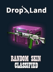 Counter-Strike: Global Offensive RANDOM CLASSIFIED SKIN BY DROPLAND.NET Steam Key GLOBAL