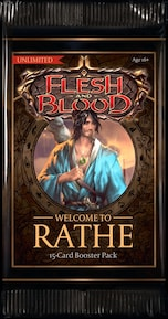 Flesh & Blood TCG: Welcome to Rathe Unlimited Booster