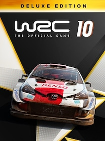 WRC 10 FIA World Rally Championship   Deluxe Edition (PC) - Steam Key - GLOBAL