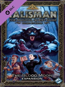 Talisman - The Blood Moon Expansion Steam Key GLOBAL