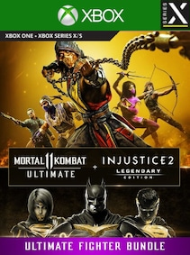 Mortal Kombat 11 Ultimate + Injustice 2 Leg. Edition Bundle (Xbox Series X/S) - Xbox Live Key - EUROPE