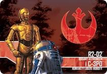 SW - IMPERIUM ATAKUJE - R2D2 I C3PO