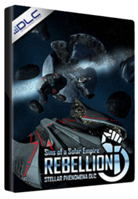 Sins of a Solar Empire: Rebellion - Stellar Phenomena Steam Key GLOBAL