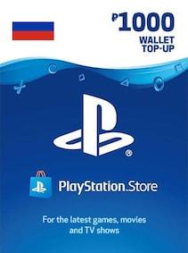 PlayStation Network Gift Card 1 000 RUB - PSN RUSSIA