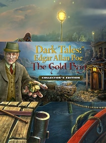 Dark Tales: Edgar Allan Poe's The Gold Bug Collector's Edition Steam Gift GLOBAL