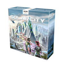 Solar City + budynek Crown - karta + 9 żetonów