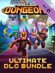 Minecraft Dungeons Ultimate DLC Bundle (PC) - Steam Gift - GLOBAL