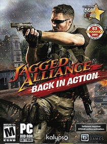 Jagged Alliance - Back in Action Steam Key POLAND