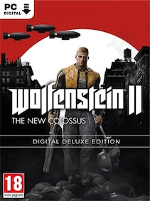 Wolfenstein II: The New Colossus Digital Deluxe Edition Steam Key GLOBAL