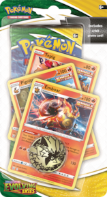 Pokémon TCG: Evolving Skies Checklane RED EMBOAR