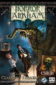 Horror w Arkham Klątwa Czarnego Faraona