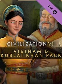 Sid Meier's Civilization VI – Vietnam & Kublai Khan Pack (PC) - Steam Gift - GLOBAL