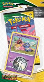 Pokémon TCG: Evolving Skies Checklane Blister SLOWPOKE