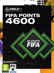 Fifa 21 Ultimate Team 4600 Fut Points - Xbox Live Key - GLOBAL