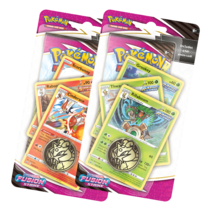 Pokémon TCG: Fusion Strike RILLABOOM Premium Checklane Blister