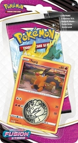 Pokémon TCG: Fusion Strike TEPIG Checklane Blister