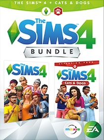 The Sims 4 Plus Cats & Dogs Bundle Xbox Live Key Xbox One GLOBAL