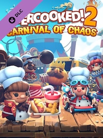 Overcooked! 2 - Carnival of Chaos - Steam - Key GLOBAL