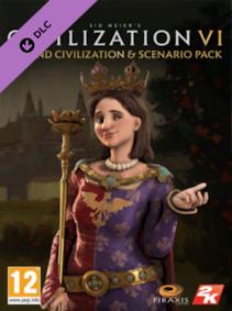Sid Meier's Civilization VI - Poland Civilization & Scenario Pack Steam Key GLOBAL