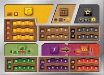 Terraformacja Marsa - Zestaw 5 plansz graczy