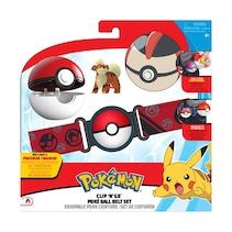 Pokémon Clip \'N\' Go Poke Ball pas + figurka Growlithe Seria 5