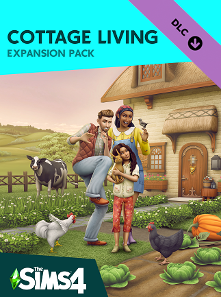 The Sims 4 Cottage Living Expansion Pack (PC) - Origin Key - GLOBAL