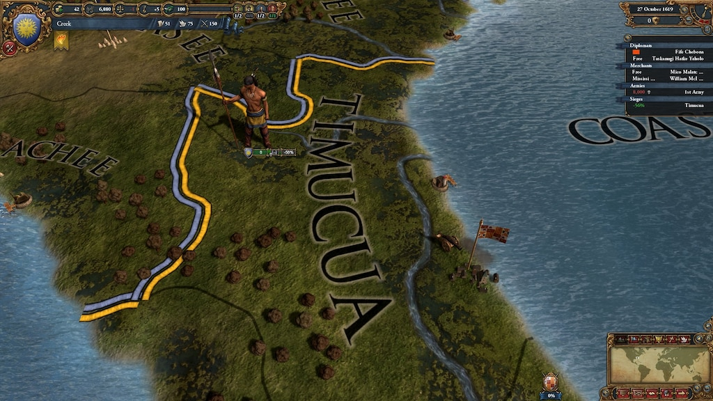 CONQUEST OF A CONTINENT