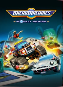 Micro Machines World Series Steam Key GLOBAL