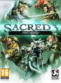 Sacred 3 First Edition Steam Key GLOBAL