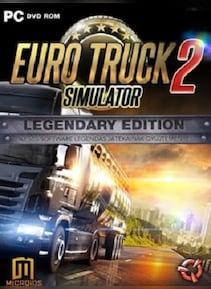 euro truck simulator 2 legendary edition steam key global. Black Bedroom Furniture Sets. Home Design Ideas