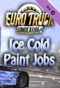Euro Truck Simulator 2 - Ice Cold Paint Jobs Pack Steam Key GLOBAL