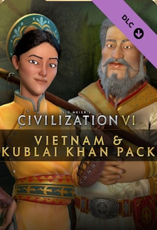 Sid Meier's Civilization VI – Vietnam & Kublai Khan Pack (PC) - Steam Key - GLOBAL