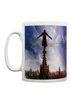 Image of Assassin's Creed Movie Spire Teaser Mug White