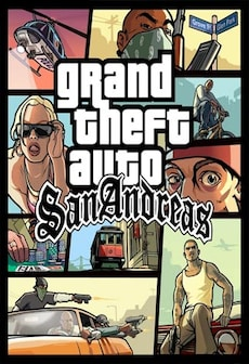 Grand Theft Auto San Andreas Steam Key