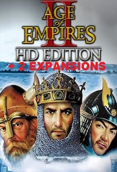 Age of Empires II HD + The Forgotten Expansion + The African Kingdoms Expansion Steam Key GLOBAL