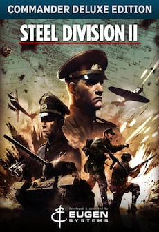 Steel Division 2 Commander Deluxe Edition Steam Key GLOBAL