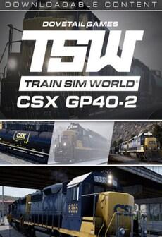 Train Sim World: CSX GP40-2 Loco Add-On Steam Key GLOBAL