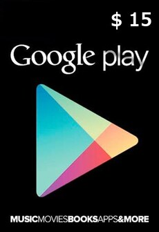 Image of Google Play Gift Card NORTH AMERICA 15 USD