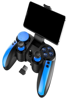 Image of iPEGA PG - 9090 Cross Key Elastic Phone Holder Flexible Joystick Bluetooth 4.0 2.4GHz Receiver Gamepad