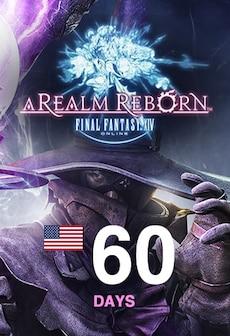 Final Fantasy XIV: A Realm Reborn Time Card 60 Days NORTH AMERICA Final Fantasy