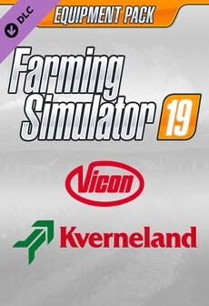 Farming Simulator 19 - Kverneland & Vicon Equipment Pack (PC) - Steam Gift - GLOBAL