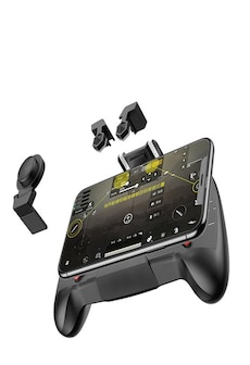 Image of AK21 Gaming Joystick Gamepad - Mobile Phone Game Trigger Fire Button L1R1 Shooter Controller AK21