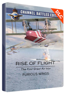 Rise of Flight: Channel Battles Edition - Furious Wings Steam Key GLOBAL