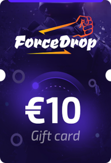 Forcedrop.gg Gift Card 10 EUR - Code GLOBAL