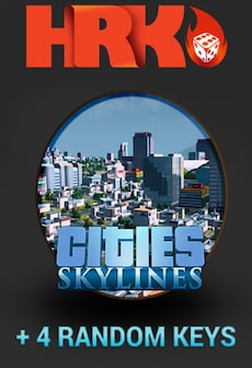 Cities: Skylines Deluxe Edition Random Steam Gift GLOBAL 4 Keys