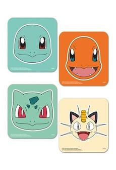 Image of Pokemon Faces Coaster Set
