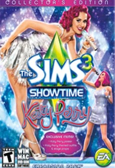 The Sims 3 Showtime Katy Perry Collector's Edition DLC ORIGIN CD-KEY GLOBAL PC