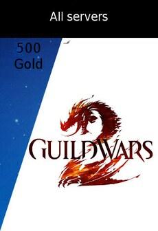 Guild Wars 2 - All Servers GLOBAL 500 Gold Coins
